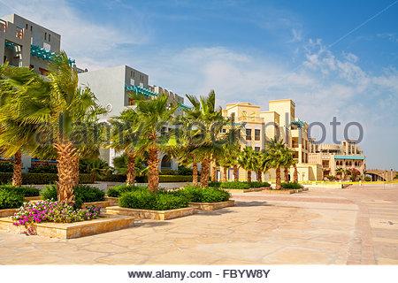 Abu Tig Marina. El Gouna, Egypt - Stock Photo