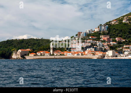 Landscape in Budva, Montenegro - Stock Photo