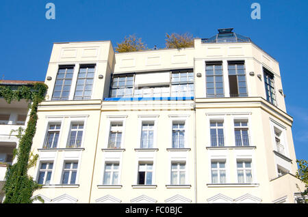 Berlin apartment house - Stock Photo