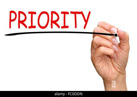Priority - Stock Photo
