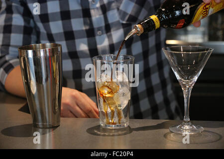 Bar. Cocktail. - Stock Photo