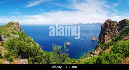 The Gulf of Porto - Corsica - Stock Photo