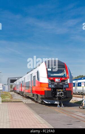 SIEMENS Desiro-Train for Austria - Stock Photo