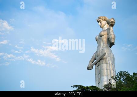 Mother Georgia statue, Tbilisi - Stock Photo