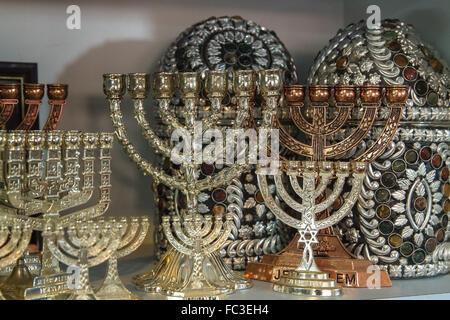 Jewish holiday Hanukkah . - Stock Photo