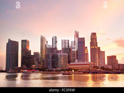 Singapore real estate - Stock Photo