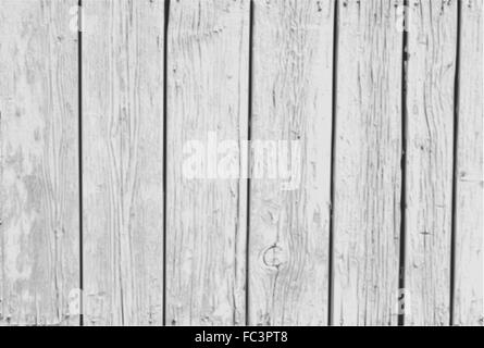 Vector Vintage  White Background Wood Wall - Stock Photo