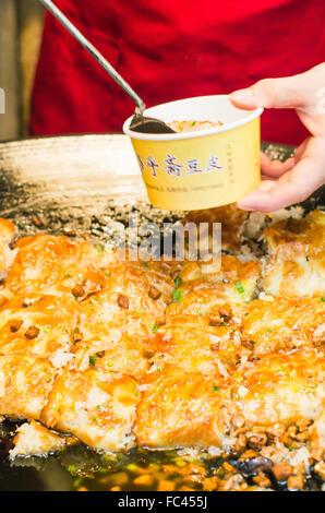 wuhan street snack doupi - Stock Photo