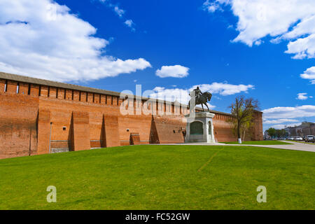 Kolomna Kremlin in Moscow region - Russia - Stock Photo