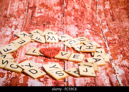 Letters of Love - Stock Photo