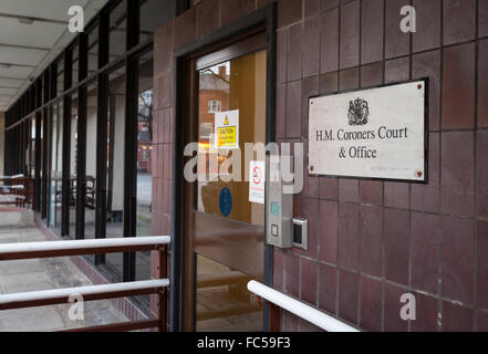 Bolton Coroners Court, Paderborn House, Bolton, UK - Stock Photo