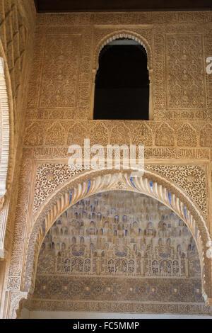 Inside the Alhambra - Stock Photo