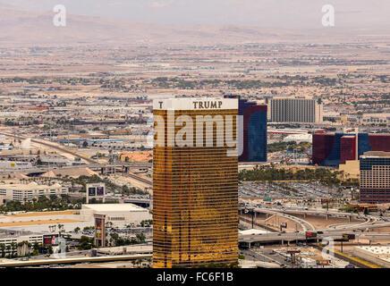 Trump Hotel in Las Vegas - Stock Photo