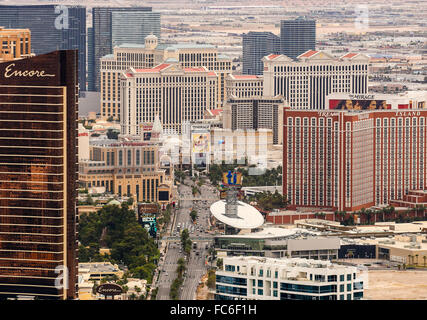 Las Vegas Strip - Stock Photo
