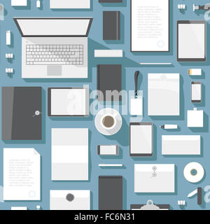 Seamless background pattern for business - Stock Photo