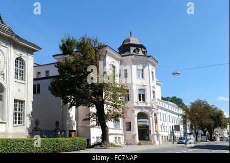 mozarteum salzburg, austria - Stock Photo