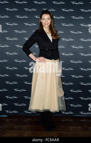 Berlin, Germany. 20th Jan, 2016. Annett Moeller attends the 'Thomas Sabo Press Cocktail' im China-Club on January - Stock Photo
