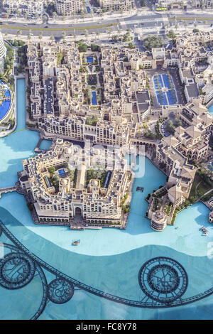 Buildings In The Emirate Of Dubai - Stock Photo