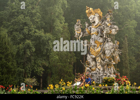 giant demon at Eka Karya Botanic Garden or  Bali Botanic Garden in Bedugul , Bali, Indonesia