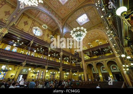 Dohany Street Synagogue, Budapest, Hungary, Europe - Stock Photo