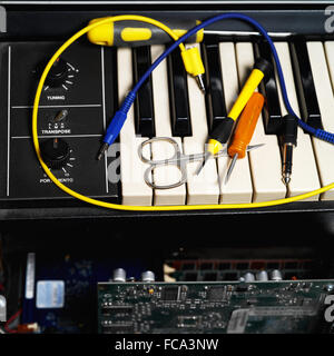 Repair Of Synthesizer - Stock Photo