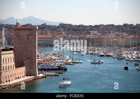marseille provence france - Stock Photo