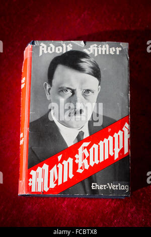 Book cover Mein Kampf Stock Photo, Royalty Free Image ...