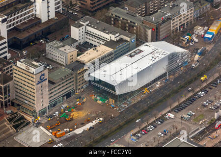 Aerial view, DFB Football Museum Dortmund, Football Museum at Dortmund, Dortmund, Ruhr area, North Rhine-Westphalia, - Stock Photo