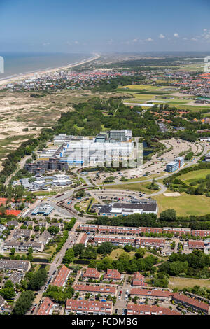 Netherlands, Noordwijk, ESTEC, European Space Research and Technology Centre. Aerial - Stock Photo