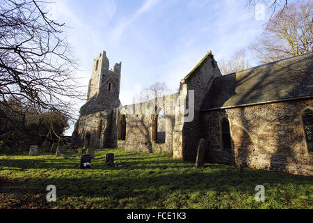 St Peter and St Paul Church, Tunstall, Norfolk - Stock Photo