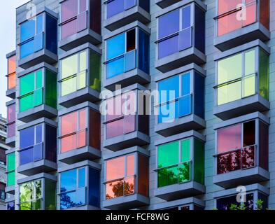 Hotel Hesperia, Bilbao, Bizkaia, Basque Country, Spain, Europe. - Stock Photo