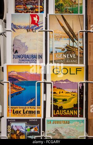 LES CANTONS SUISSES, SUISSE, EUROPE - Stock Photo