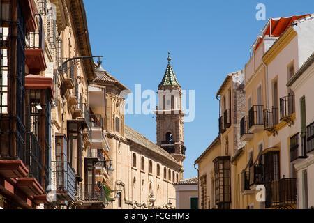 Madre de Dios Convent, Antequera, Malaga, Andalusia, Spain - Stock Photo