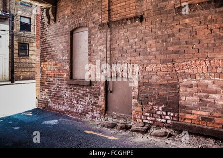Side Of A Brick Building