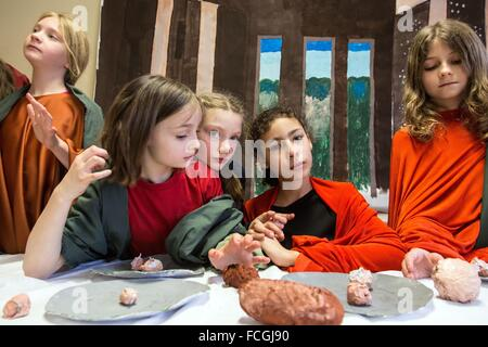 EXTRACURRICULAR ACTIVITIES, RUGLES - Stock Photo