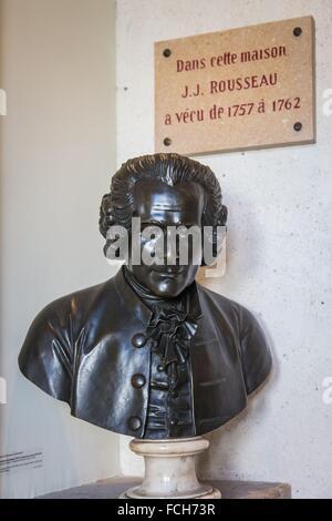 ILLUSTRATION OF THE YVELINES (78), ILE DE FRANCE, FRANCE - Stock Photo