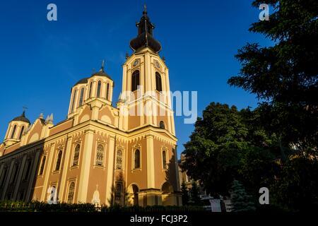 Serbian Orthodox Cathedral, Sarajevo, Bosnia and Herzegovina - Stock Photo