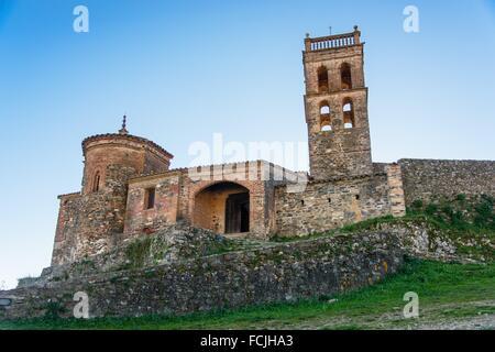Mosque Almonaster la Real. Huelva. Andalusia. Spain. - Stock Photo