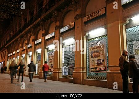 Shopping street in ronda spain stock photo royalty free - Moritz ronda sant antoni ...
