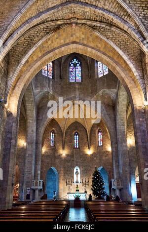 Església de Sant Pere (St. Peter´s Church), Figueres, Girona Province, Spain - Stock Photo
