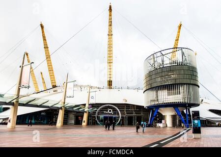 The O2 in London, UK. - Stock Photo