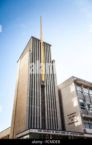 The curch of Jesus Christ of latter-day saints in London, UK. - Stock Photo
