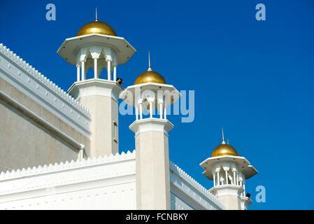 Sultan Omar Ali Saifuddien Mosque, Bandar Seri Begawan, Brunei. - Stock Photo
