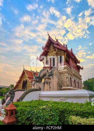 Wat Phra Singh at Chiang mai , Thailand