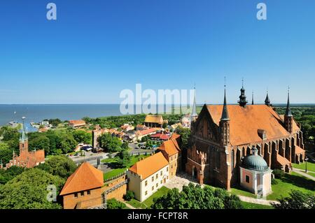 Archcathedral Basilica of the Assumption of the Blessed Virgin Mary and St. Andrew, Frombork, Poland Stock Photo