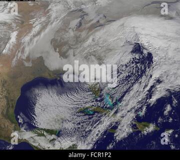 New York New York Satellite Image Stock Photo Royalty