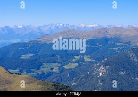 Groedner Tal in den Dolomiten - Val Gardena in Alps, Dolomites - Stock Photo