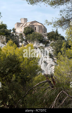 Notre Dame Alidon in Oppede le Vieux, France - Stock Photo