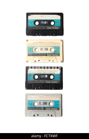 Old Tapes from East Germany in the 80s - Stock Photo
