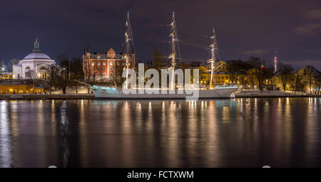 Af Chapman, a beautiful old sailing ship now a hostel - Stock Photo